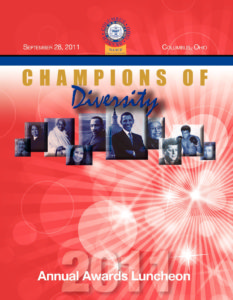 2011 Champions of Diversity Awards